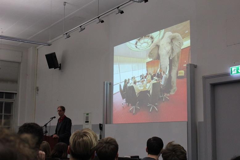 Keynote von Fabian Scheidler
